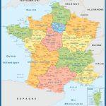 Carte France plastifiée Nouvelles Regions